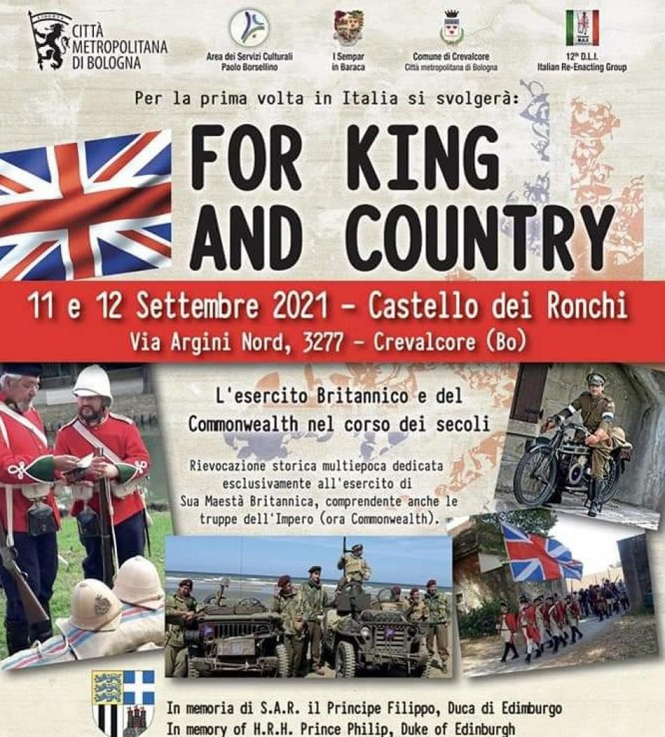 for_king_and_country_anteprima